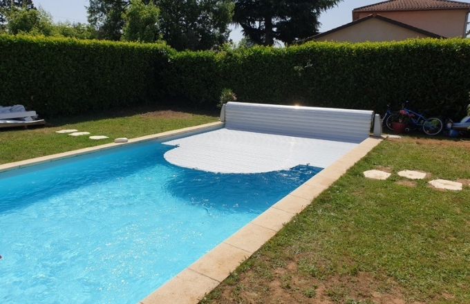Volet de piscine extérieur hors-sol jupiter