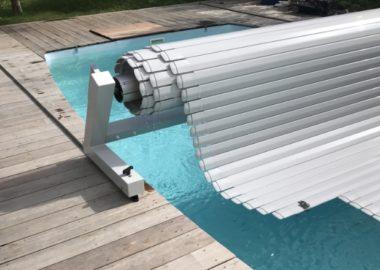 Volet de piscine hors-sol mercure